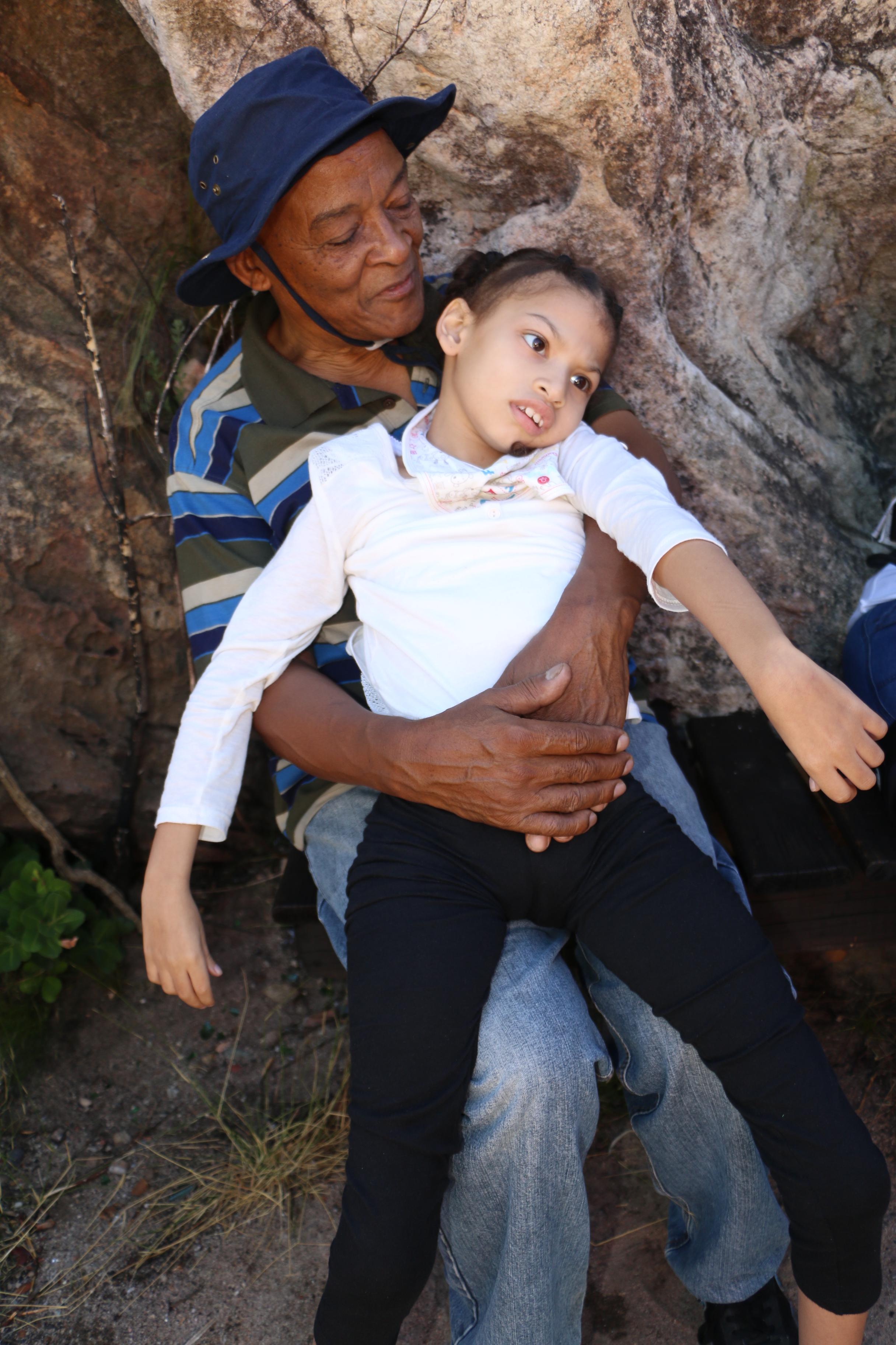 Zeah and Grandpa